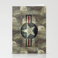 US Air Force Roundel Ins… Stationery Cards