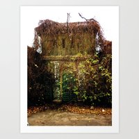 Nature Finds The Way Ins… Art Print