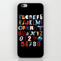 'M' is for 'Movies' iPhone & iPod Skin