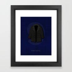 Minimal Nine Framed Art Print