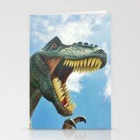 T-Rex Roar Stationery Cards