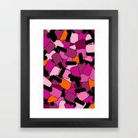 Nail Polish Framed Art Print