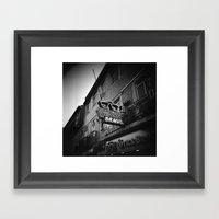 Optica Brasil Framed Art Print