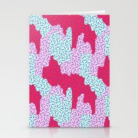 Candy Camouflage Stationery Cards