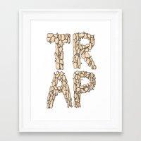 Trap Music  Framed Art Print