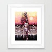 Partially Dreaming Framed Art Print