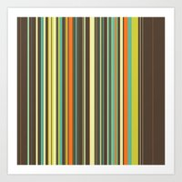 Autumn Grass Art Print