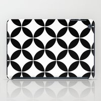 Geometric pattern (circles) iPad Case