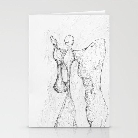 Angel Stationery Card