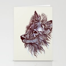 Wolf  Stationery Cards
