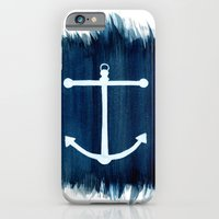 anchor iPhone & iPod Cases featuring Anchor by Bridget Davidson