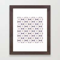 Kaleidoscope Circles Framed Art Print