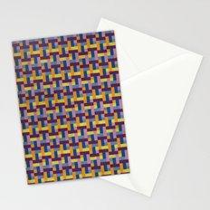Woven Pixels V Stationery Cards