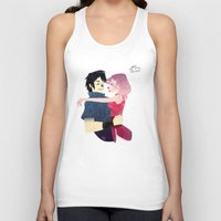 Aren't they lovely. Unisex Tank Top