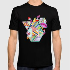 CIRCUS -C A N D Y- POP Mens Fitted Tee SMALL Black