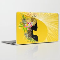 My Trendy Ascot Hat Laptop & iPad Skin