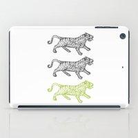 Three Tigers iPad Case