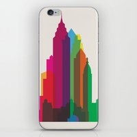 Shapes of Philadelphia accurate to scale iPhone & iPod Skin