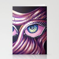 Emotional Eyes Stationery Cards