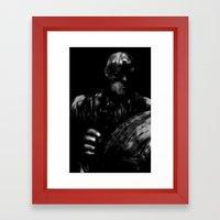 A is for America Framed Art Print