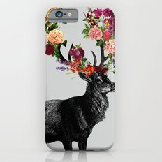 Spring Itself Deer Floral iPhone 6 Slim Case