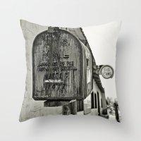 Mailbox  Throw Pillow