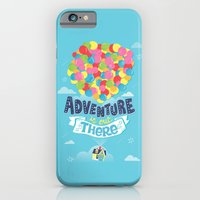 iPhone Cases featuring Adventure is out there by Risa Rodil
