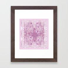 Bear Kaleidoscope ♡ Framed Art Print