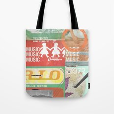 Music, Music, Music Tote Bag