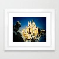 St. Nicholas Orthodox Church in Brasov, Romania Framed Art Print