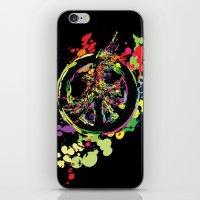 Peace & Peace iPhone & iPod Skin