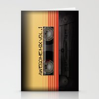 Awesome Mix Vol. 1 Stationery Cards