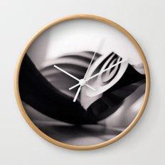 Paper Sculpture #1 Wall Clock