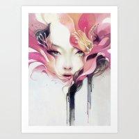 Bauhinia Art Print