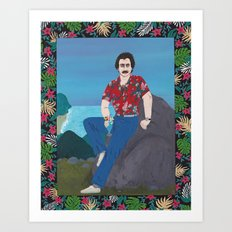 Magnum / Hawaii Art Print