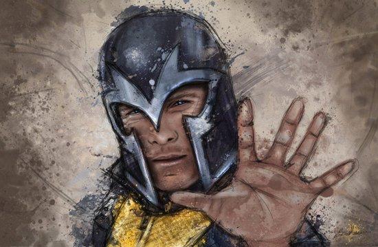 Magneto. Art Print