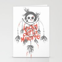 Angel de la Muerte - RED Stationery Cards