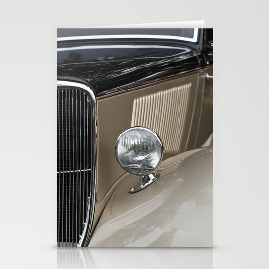 Classic Car Stationery Card