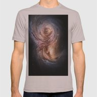 Galaxy Mens Fitted Tee Cinder SMALL