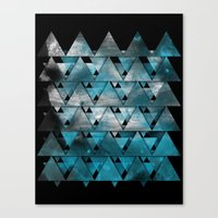 TriangleTracts Canvas Print