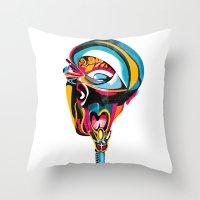 Anatomy Gautier v4 Throw Pillow