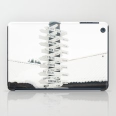 Directions to Anywhere iPad Case