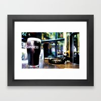 It's Time For A Pint Framed Art Print