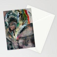 Warrior Portrait Stationery Cards