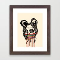 Wonderdam Girl  Framed Art Print
