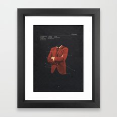 Manhood Framed Art Print