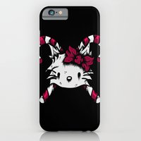 iPhone & iPod Case featuring Oh Hai there kitty by dominantdinosaur