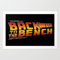 Back to the Bench Art Print