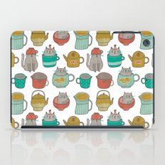 Pattern Project #5 / Cats and Pots iPad Case