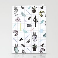 PASTEL GARDENS Stationery Cards